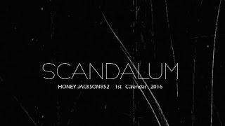 "HONEY JACKSON852  1st  Calendar  2016  ""SCANDALUM"" DVD preview"