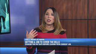 GETTING A JOB TO COVER THE BILLS