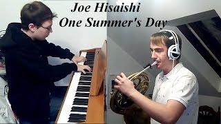 Joe Hisaishi - One Summer's Day (Horn + Piano)