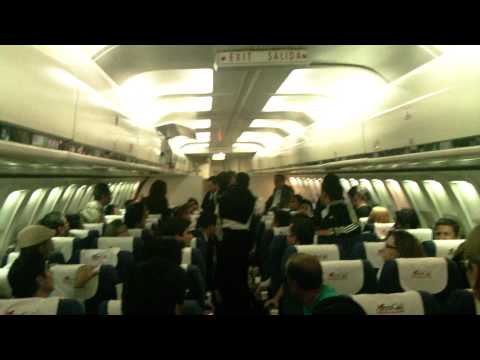 AEROGAL PASSENGERS IN VERBAL CONFRONTATION ON PLANE part 1