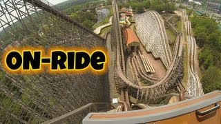 El Toro On-ride Front Seat (HD POV) Six Flags Great Adventure