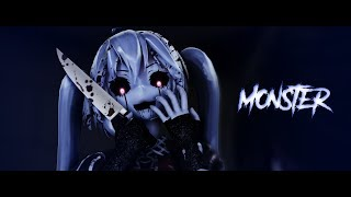 │ммd│Monster - Full Motion