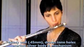 Gariboldi etude on a Pearl flute, Nina Perlove