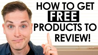 How to make companies send you free products unboxing videos