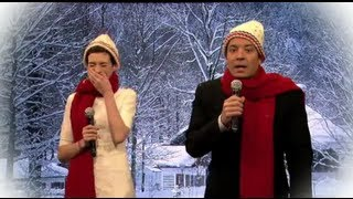 Anne Hathaway Jimmy Fallon Christmas Mad Libs!