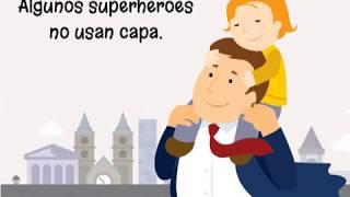 Feliz día del Padre, superhéroe!