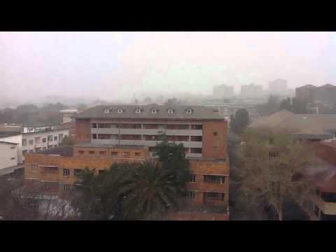 Snowfall South Africa