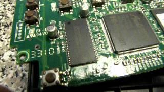 Digitech RP90 UP switch failure
