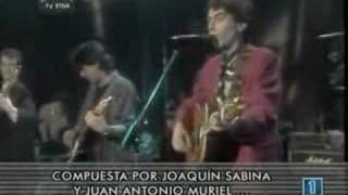 """LA TELE DE TU VIDA - Joaquín Sabina """"Princesa"""" (1986)"""