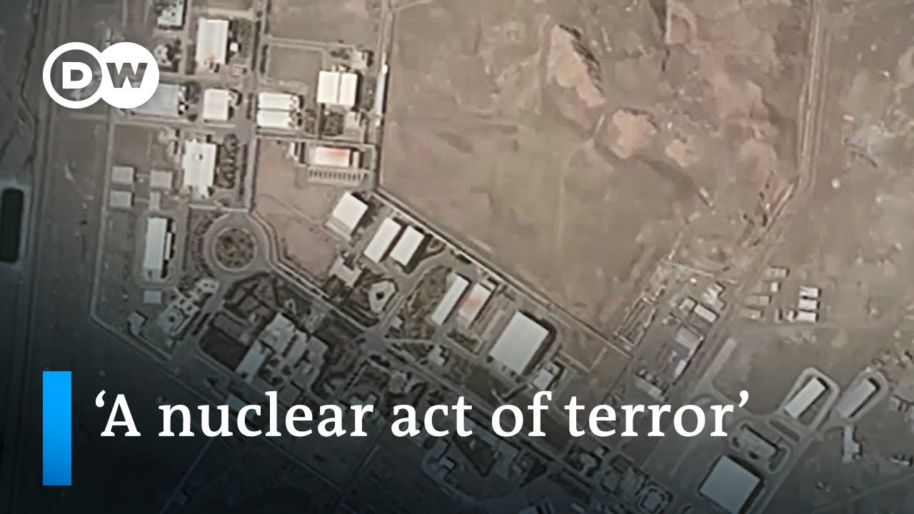 Iran Blames Israel for Nuclear Site Explosion