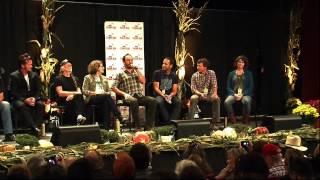 "Farm Aid Press Conference, Dave Mathews, ""Go Frack Yourself"""