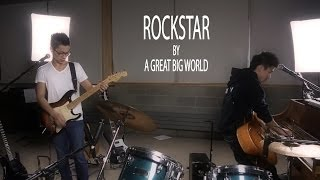 """Rockstar"" - A Great Big World - TSP Loop Pedal Cover (ft. Erik Bucaneg & Randy Chang)"