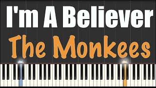 i'm a Believer - Smash Mouth - Piano Tutorial