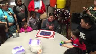 Happy Birthday Xavier Webster 2015