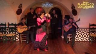 Victoria Santiago Borja, La Tana, #Cantaora de #Sevilla en @TablaoCordobes