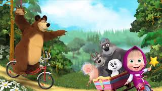 Masha and The Bear - Driving Lessons!