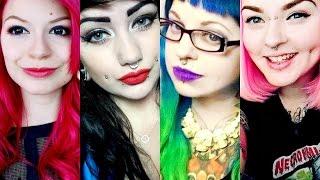 Halloween MEETUP - Julia Zelg,  Emily Boo, Toxic Panda,  & Lilithas Bones