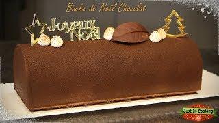 ❅ Recette de Bûche de Noël au Chocolat ❅