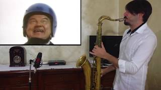 YAKETY SAX 🎷(Benny Hill Show Theme) Saxophone Cover