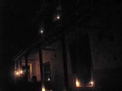 Candles burning at my house on Laxmi Pooja day in Kalati Bhumidanda V.D.C., Kavre, Nepal