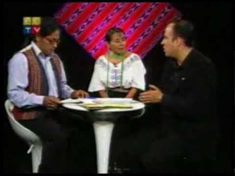 entrevista ley de cultura Ecuador TV