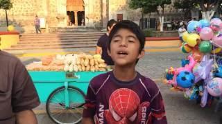 Niño En Tequila Jalisco Canta Espectacular / Ulises Martinez (Cover Pedrito Fernandez)
