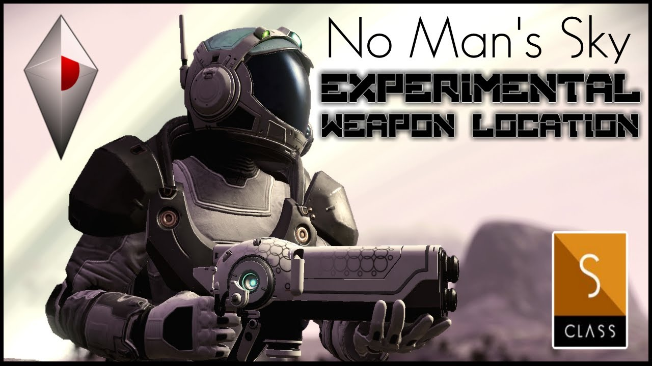 Manic Miners - No Man's Sky Origins - EASY FIND ! WHITE S CLASS Experimental Weapon / Multi tool - No Mans Sky 2020
