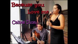 Because you love me - Celine Dion - Eleganza Music Services - Madeline Alicea Cover