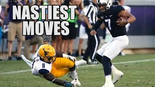 Nastiest Moves (Hurdles, Jukes, Spin Moves, & Stiff Arms) Of The 2017-18 College Football Season ᴴᴰ