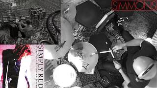 "Simply Red - ""If You Don't Know Me By Now"".  🎧 Drum Cover. SIMMONS DRUMS SDS 8."