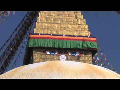 Bouddhnath stupa –  Nepal Heritage site HD