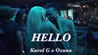 karol g ft ozuna hello (audio cover)
