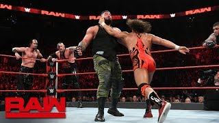 Chad Gable & Bobby Roode vs. AOP vs. The Ascension: Raw, Oct. 29, 2018