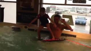Swim Spa Surfing