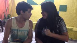 """Vejo uma porta abrir"" Frozen - Taty Kiss e Matheus Monteiro"