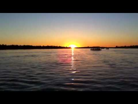 Sundown at Zambezi river (May 2011)