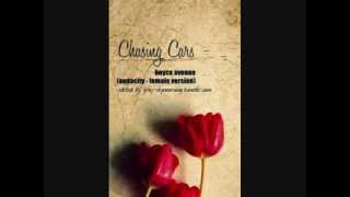 Boyce Avenue - Chasing Cars by Snow Patrol (Audacity-female version)