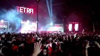 Benfica— A festa do TETRA no Marquês