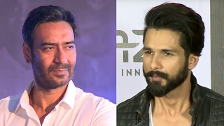 Shahid Kapoor's REACTION on replacing Ajay Devgn