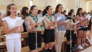 """2017 - """"Deus Trino (Em nome do Pai)"""" - Coro Juvenil de São Pedro do Mar, Quarteira"""