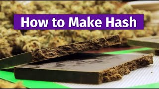 Cannabis Craftsmanship: How to Make Hash width=