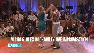 RTSF 2018 - Micha &  Alex Rockabilly Jive Improvisation