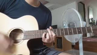 วิชาตัวเบา bodyslam solo guitarโปร่ง cover