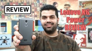 Lenovo K6 Power Full Review Video