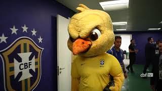 Canarinho e Seleção Brasileira no Allianz Parque pelas Eliminatórias da Copa