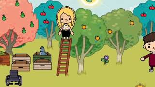 The day in the life of Safari/Ruby Lomen  toca Boca ep3 andep1 for day in the life on week ends