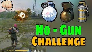 No Gun Challenge || Garena Free Fire || Desi Gamers