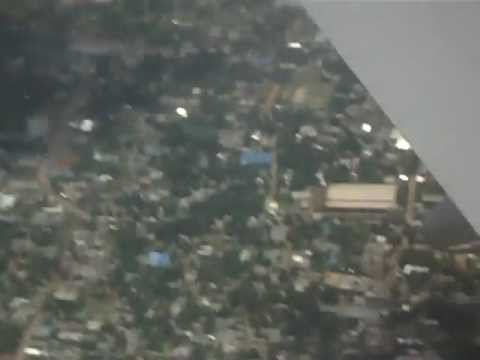 Dhaka from the sky