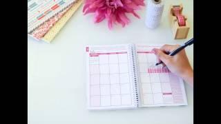 2015 Calendar Year bloom daily planner Walk Through Video