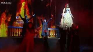 [LIVE] Scène du cauchemar d'Olympe - Camille Lou & Willy Rovelli, 1789, les Amants de la Bastille